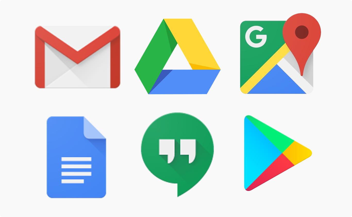 おなじみの Google Service
